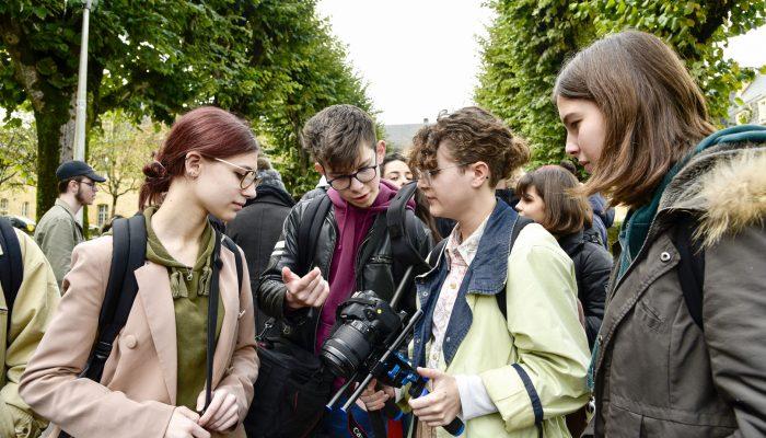 Lycéens au festival du film de Sarlat 2019